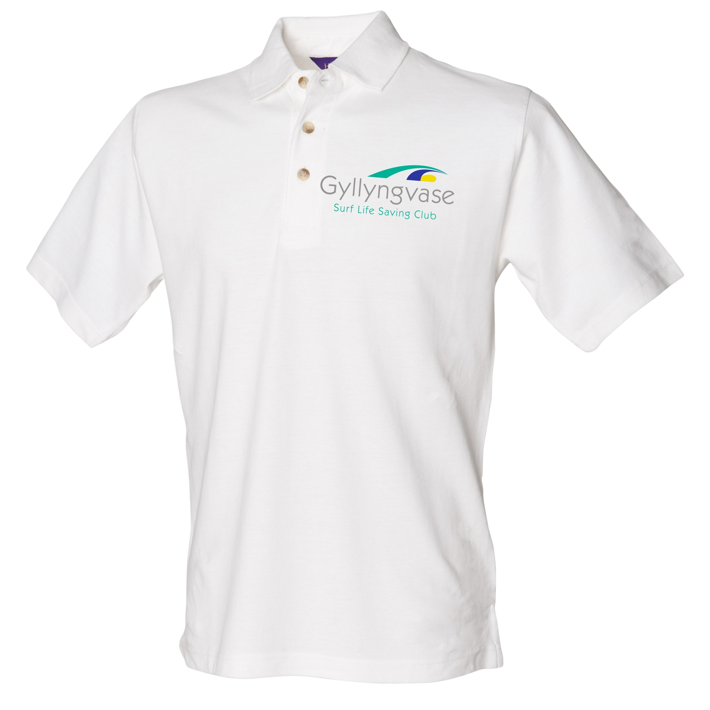 Club Adult White Polo