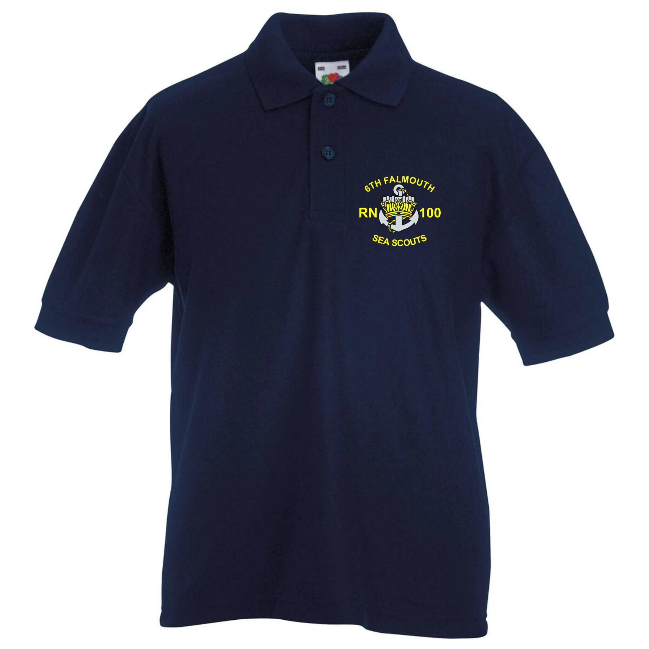 Kids embroidered polo shirt saints screen print for Personalized polo shirts for toddlers