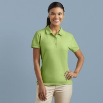 Women's premium cotton double piqué sport shirt